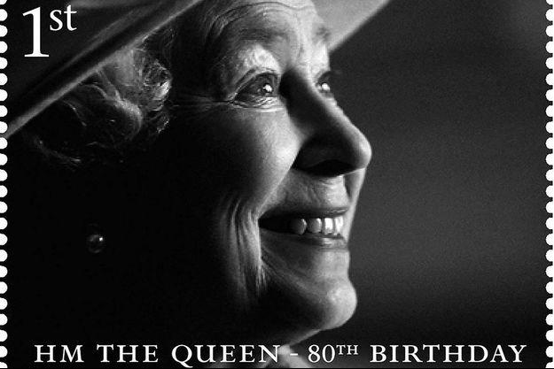 La reine Elizabeth II a bien sûr eu droit à une collection de timbres pour son 80e anniversaire... en 2006.