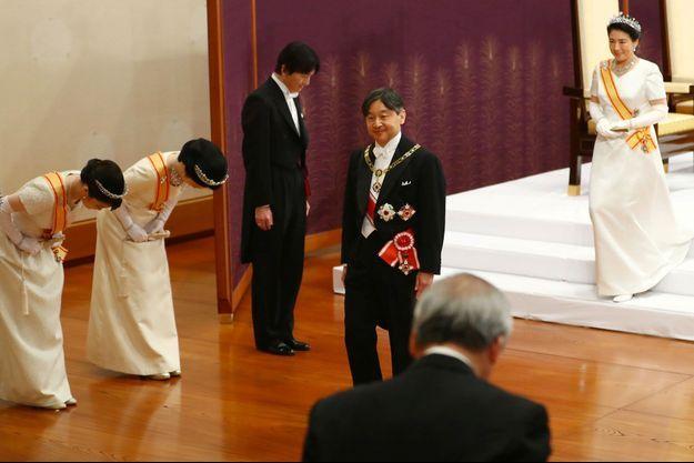 L'empereur au Japon Naruhito.