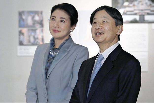 L'empereur Naruhito du Japon et sa femme l'impératrice Masako à Tokyo, le 10 février 2020
