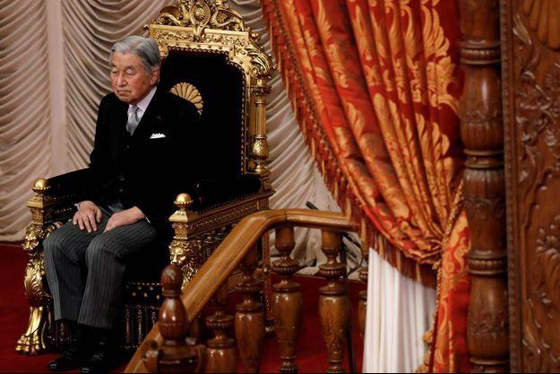 L'empereur Akihito du Japon
