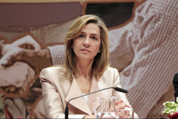 L'infante Cristina d'Espagne en 2013.