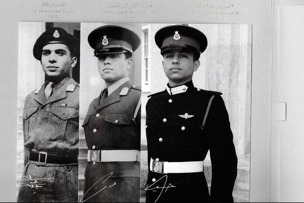 La photo de la carte de vœux 2018 du roi Abdallah II de Jordanie et du prince héritier Hussein