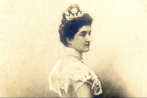La reine Hélène d'Italie, épouse du roi Victor Emmanuel III