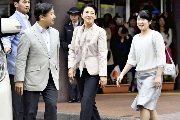 La princesse Aiko du Japon avec ses parents la princesse Masako et le prince Naruhito, le 3 mai 2018