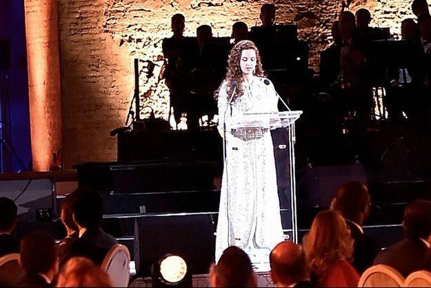 La princesse Lalla Salma a présidé un dîner de gala caritatif pour les 10 ans de sa Fondation.