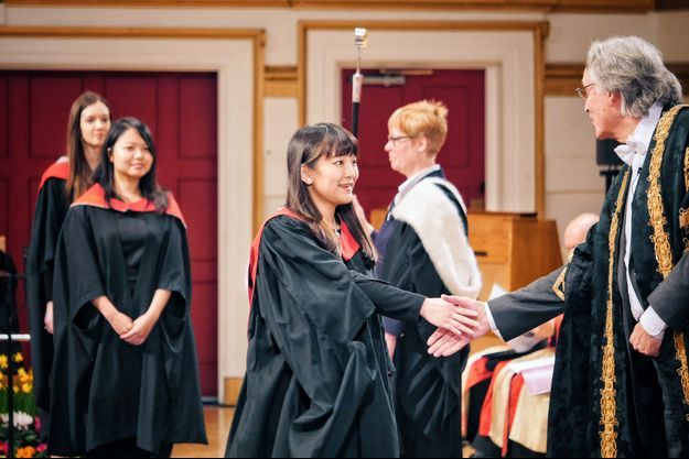 La princesse Mako du Japon diplômée en Angleterre