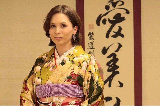 La princesse Raiyah de Jordanie à Tokyo, le 13 avril 2009