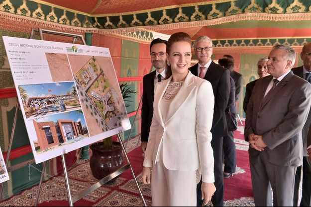 La princesse Lalla Salma du Maroc à Laâyoune, le 30 mai 2016