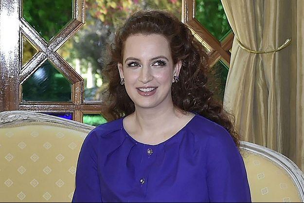 La princesse Lalla Salma, épouse du roi Mohammed VI du Maroc, le 10 mai 2015
