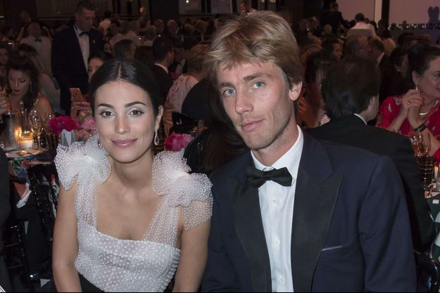 Allesandra de Osma et le prince Christian de Hanovre au Bal de la rose à Monaco, le 18 mars 2017