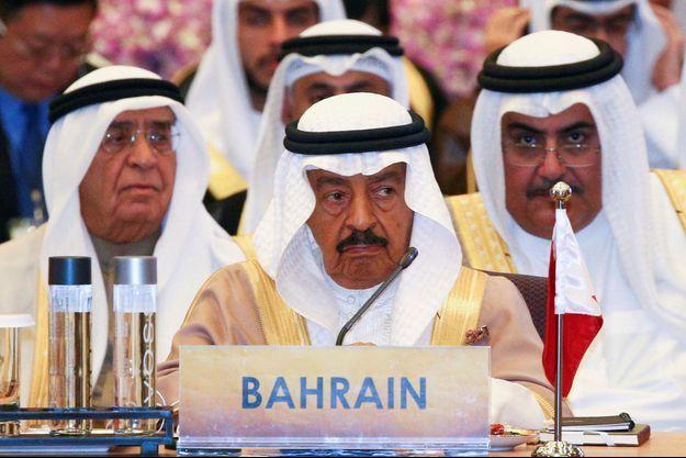 Le prince Khalifa Bin Salman al-Khalifa, Premier ministre de Bahreïn, le 10 octobre 2016