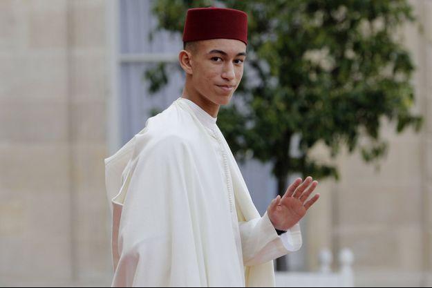 Le prince Moulay El Hassan à Paris le 30 septembre 2019, pour les obsèques de Jacques Chirac