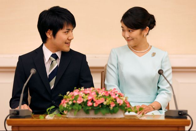 La princesse Mako et Kei Komuro en septembre 2017.