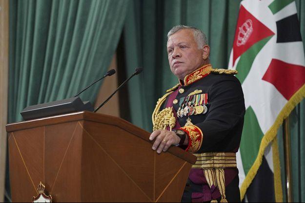 Le roi Abdallah II de Jordanie, le 10 décembre 2020
