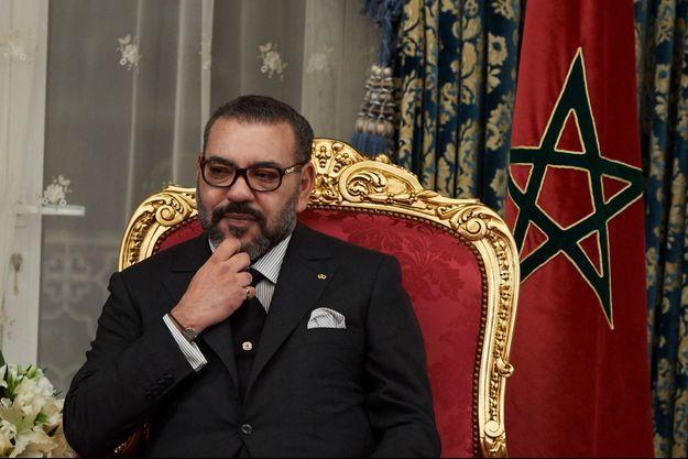 Le roi du Maroc Mohammed VI à Rabat, le 13 février 2019