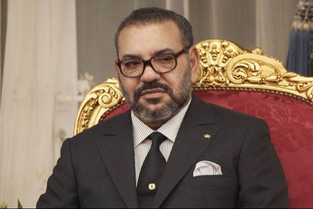 Le roi Mohammed VI du Maroc, le 13 février 2019