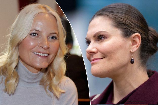 La princesse Mette-Marit de Norvège, le 27 février 2020 – La princesse Victoria de Suède, le 26 mars 2020