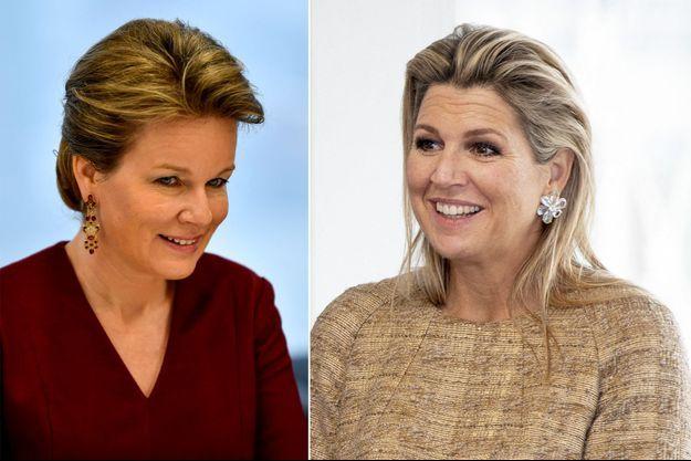 La reine des belges Mathilde, le 11 février 2020 – La reine Maxima des Pays-Bas, le 19 novembre 2020