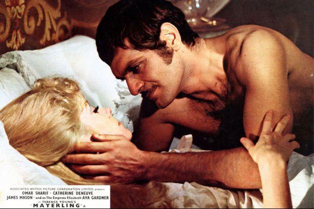 Mayerling version cinéma en 1968 avec Catherine Deneuve et Omar Sharif