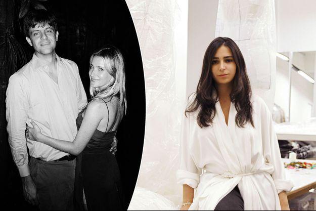 Photo diffusée le 8 août 2016 pour les fiançailles du prince Ernst August de Hanovre et de Ekaterina Malysheva. A droite, la styliste Sandra Mansour