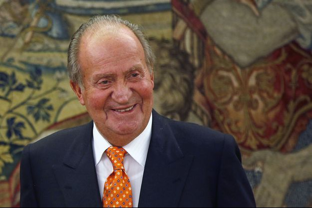 Juan Carlos d'Espagne, le 27 mai 2014.