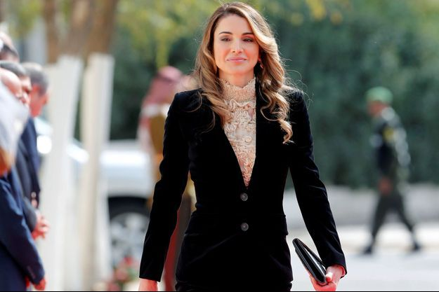 La reine Rania de Jordanie à Amman, le 7 novembre 2016