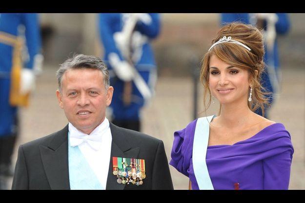 Le roi Abdullah II Bin Al Hussein de Jordanie et sa magnifique reine.