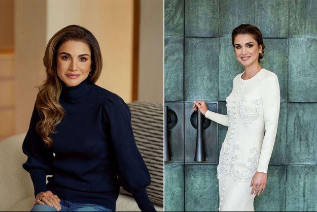 Les deux portraits officiels de la reine Rania de Jordanie diffusés pour son 50e anniversaire le 31 août 2020