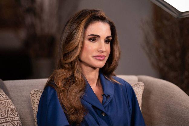 La reine Rania de Jordanie, le 6 février 2021