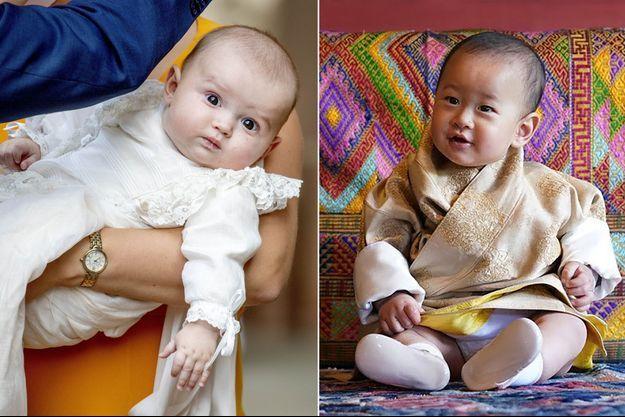 Le prince Charles de Luxembourg, le 19 septembre 2020 – Le prince Jigme Ugyen Wangchuck du Bhoutan. Photo diffusée le 31 octobre 2020