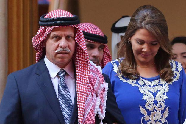 Le prince Faisal de Jordanie et sa femme la princesse Zeina, le 25 mai 2016