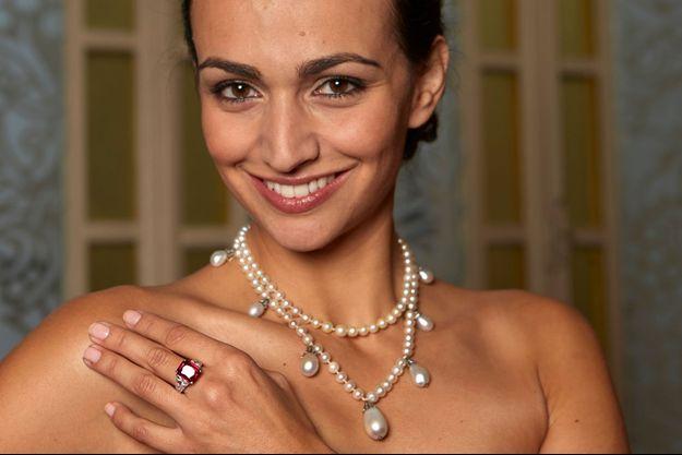Le collier de perles de Joséphine de Beauharnais, reine de Norvège et de Suède, en vente chez Sotheby's à Genève le 12 novembre 2014