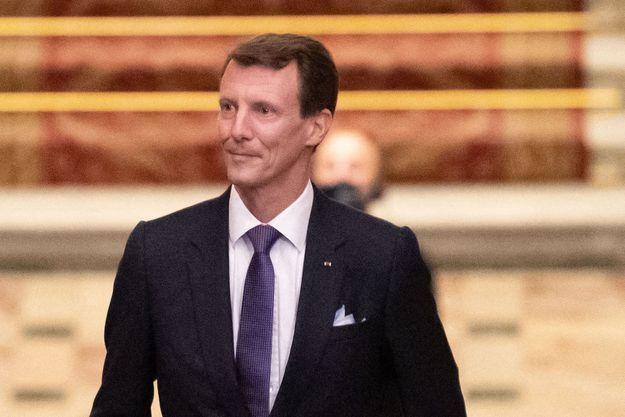 Le prince Joachim de Danemark à Paris, le 8 octobre 2019