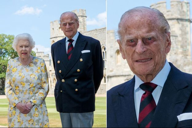 Portrait officiel du prince Philip pour ses 99 ans, avec la reine Elizabeth II, à Windsor. Photo dévoilée le 9 juin 2020, à la veille de son anniveraire
