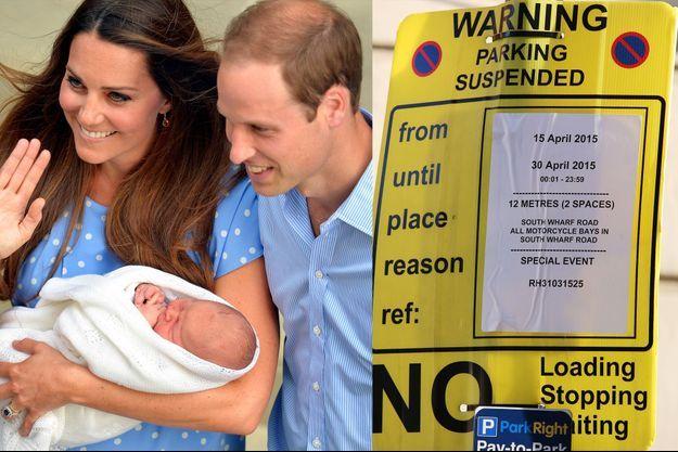 Le compte à rebours a commencé devant l'hôpital St Mary où Kate Middleton doit accoucher, comme pour le prince George en juillet 2013