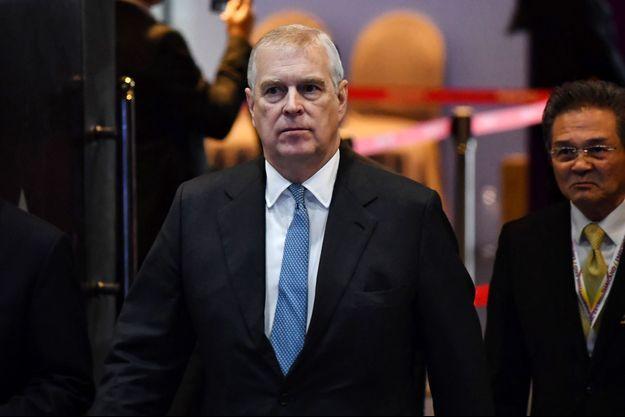 Le prince Andrew début novembre à Bangkok