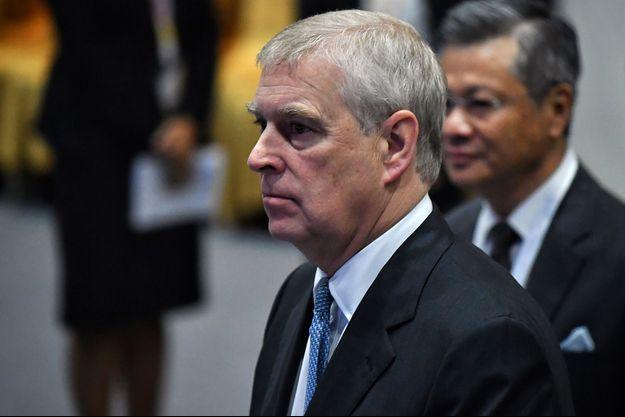 Le prince Andrew ici début novembre à Bangkok.