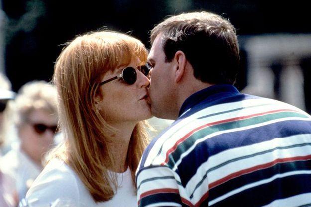 Fergie et Andrew, trois mois après leur divorce en 1986
