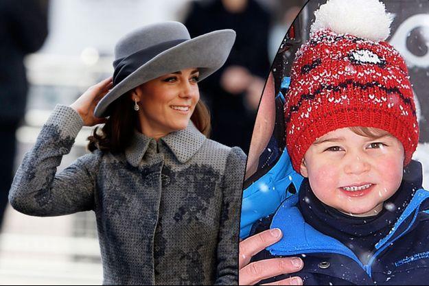 Kate Middleton et son fils le prince George