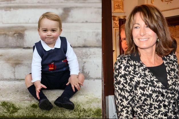 Le prince George à Londres, en novembre 2014 - Carole Middleton à Londres, le 20 octobre 2014