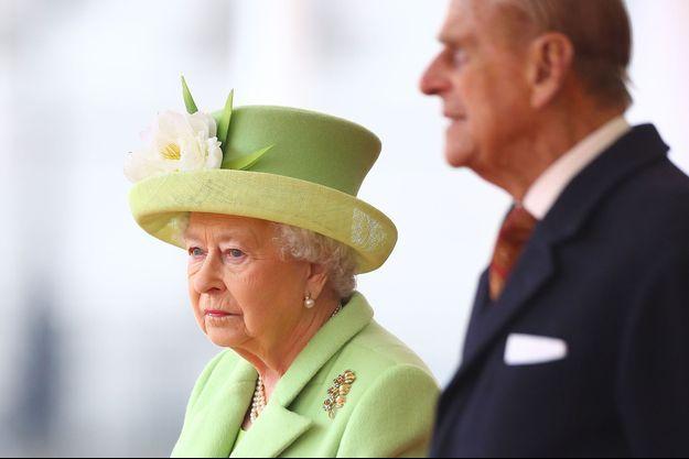 La reine Elizabeth II et son époux le prince Philip en novembre 2016.
