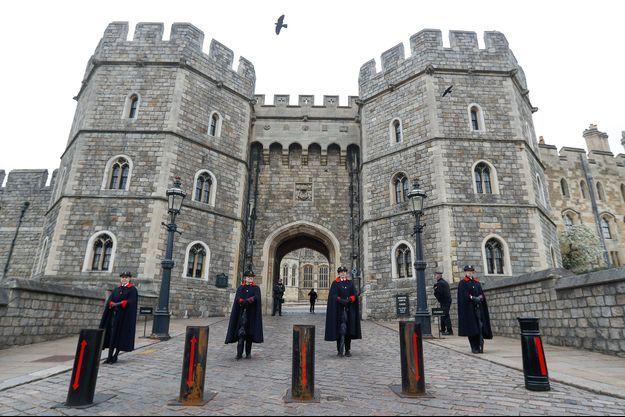 Le château de Windsor, samedi.