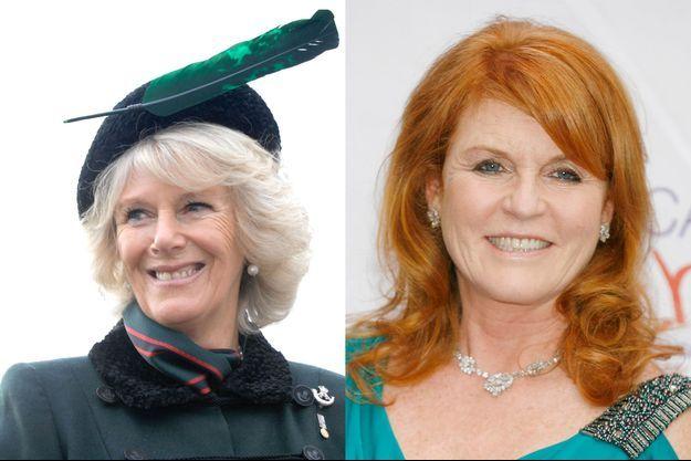Camilla et Fergie, les demoiselles de Windsor