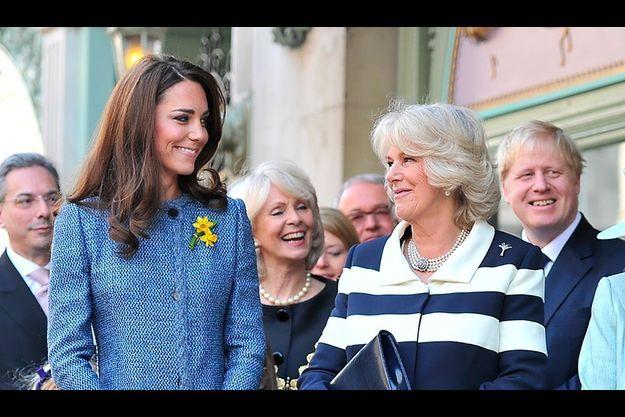 Kate et Camilla, chez Fortnum & Mason