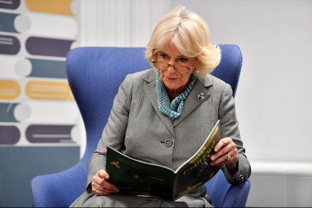 La duchesse de Cornouailles Camilla, le 22 janvier 2020