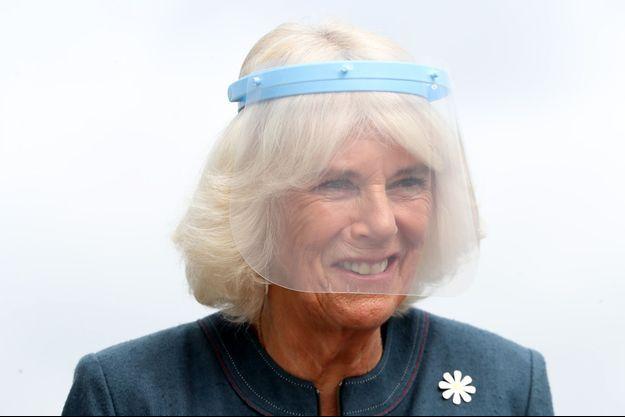 La duchesse de Cornouailles Camilla à Milton Keynes, le 9 septembre 2020
