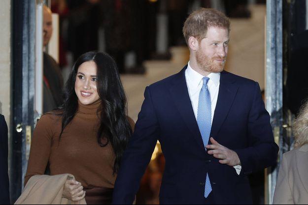 Meghan Markle avec le prince Harry