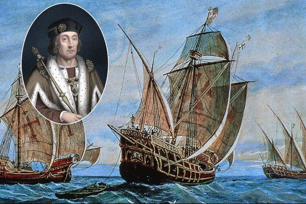Les trois caravelles du premier voyage de Christophe Colomb - En vignette : le roi Henry VII d'Angleterre