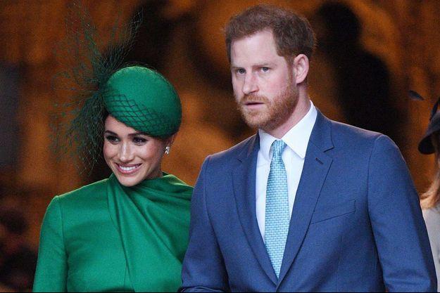 Meghan et Harry de Sussex