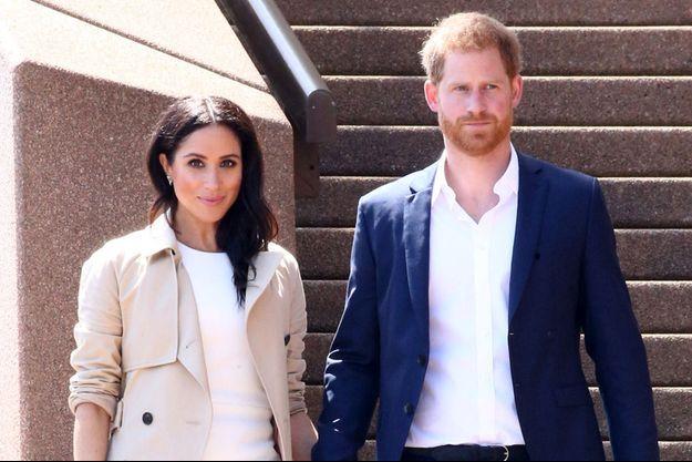 Meghan Markle et le prince Harry en 2018 lors de leur voyage à Sydney